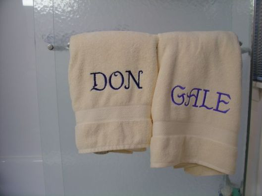 Don and Gale Towels